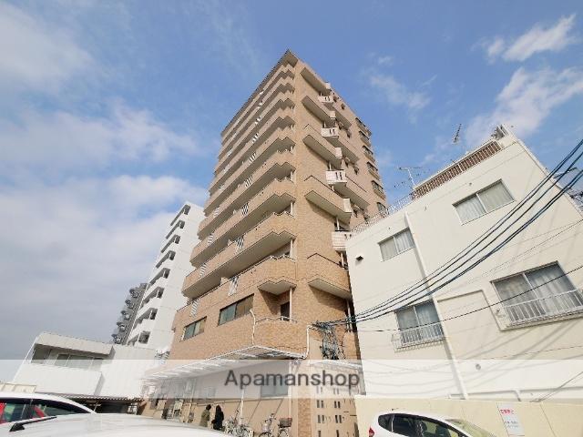 愛知県名古屋市昭和区、川名駅徒歩11分の築27年 11階建の賃貸マンション