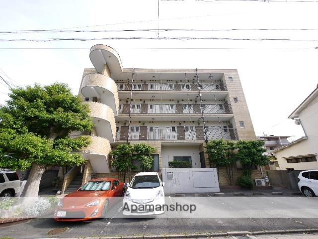 愛知県名古屋市昭和区、川名駅徒歩17分の築27年 4階建の賃貸マンション