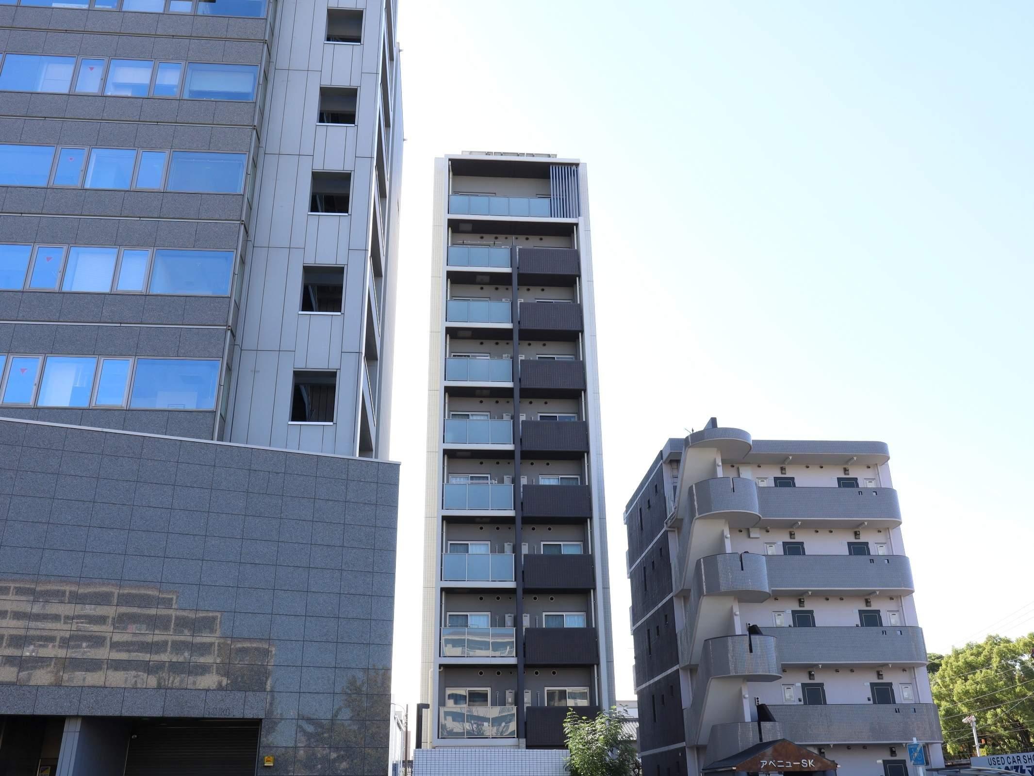 愛知県名古屋市昭和区、今池駅徒歩17分の新築 10階建の賃貸マンション