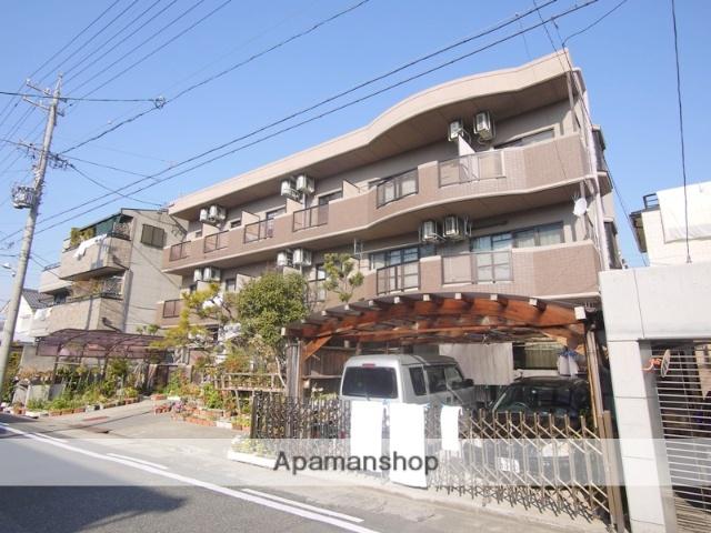 愛知県名古屋市昭和区、川名駅徒歩9分の築18年 3階建の賃貸マンション