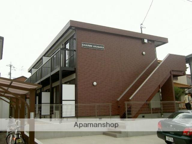 愛知県名古屋市千種区、自由ヶ丘駅徒歩13分の築9年 2階建の賃貸アパート