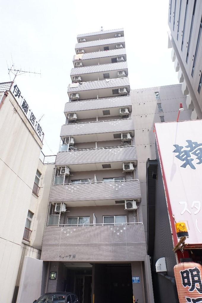 愛知県名古屋市中区、新栄町駅徒歩6分の築11年 10階建の賃貸マンション