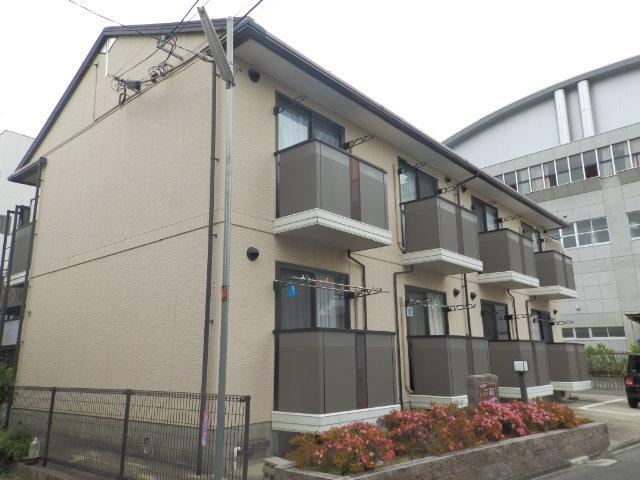 愛知県名古屋市東区、森下駅徒歩18分の築18年 2階建の賃貸アパート