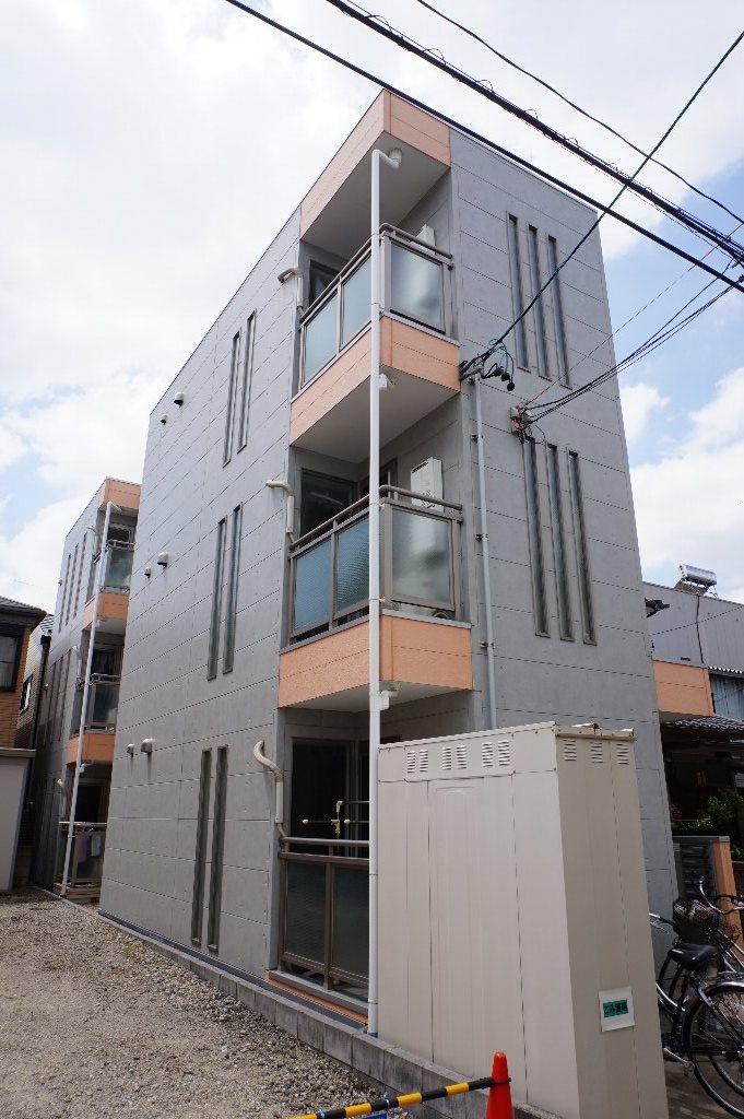 愛知県名古屋市千種区、今池駅徒歩12分の築9年 3階建の賃貸アパート