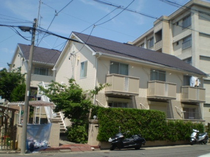 愛知県名古屋市昭和区、川名駅徒歩4分の築28年 2階建の賃貸アパート