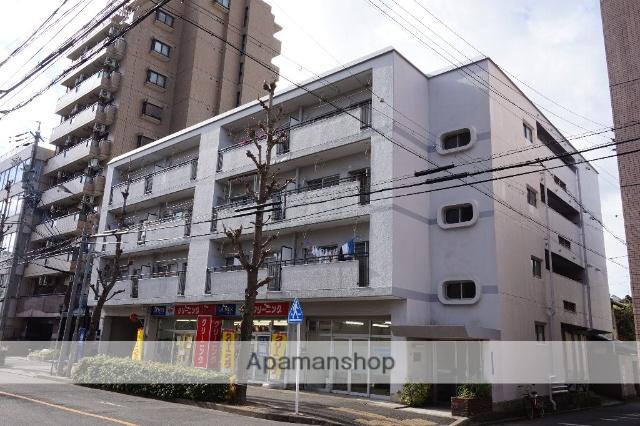 愛知県名古屋市千種区、千種駅徒歩5分の築43年 4階建の賃貸マンション