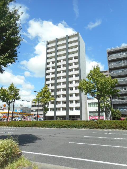 愛知県名古屋市東区、新栄町駅徒歩8分の築9年 14階建の賃貸マンション