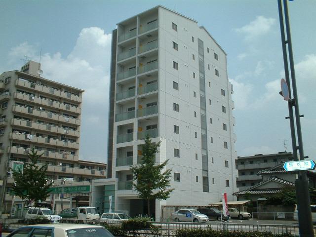 愛知県名古屋市昭和区、荒畑駅徒歩12分の築14年 9階建の賃貸マンション