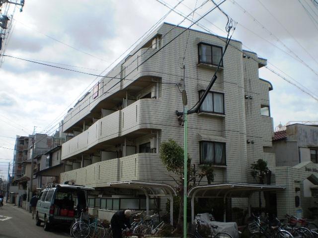 愛知県名古屋市千種区、今池駅徒歩14分の築31年 4階建の賃貸マンション