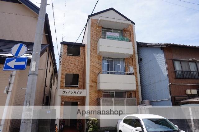 愛知県名古屋市東区、清水駅徒歩14分の築32年 3階建の賃貸マンション