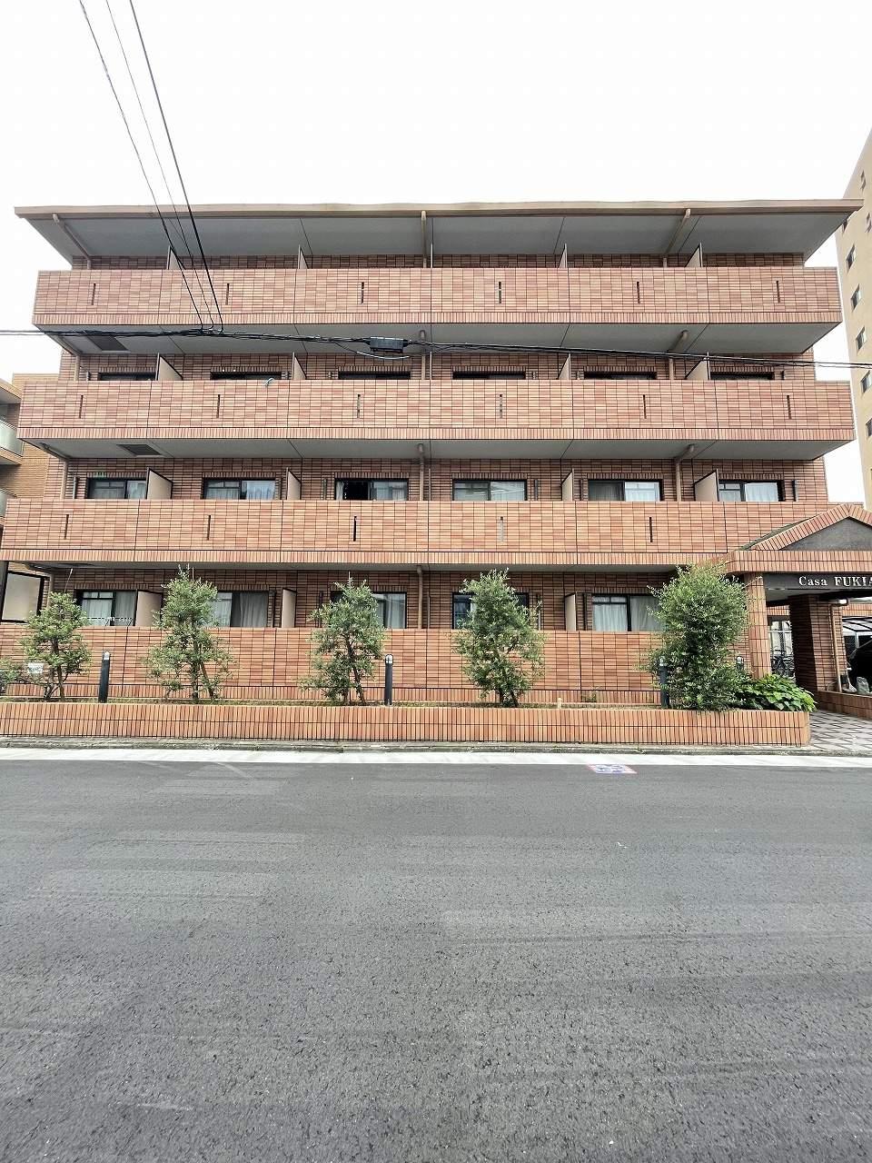 愛知県名古屋市昭和区、今池駅徒歩16分の築18年 4階建の賃貸マンション