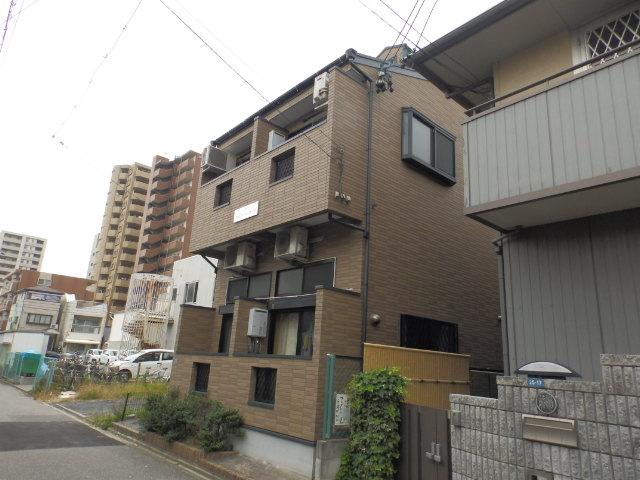 愛知県名古屋市千種区、今池駅徒歩11分の築13年 2階建の賃貸アパート
