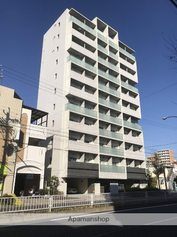 愛知県名古屋市千種区、池下駅徒歩13分の築7年 11階建の賃貸マンション