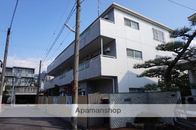 愛知県名古屋市千種区、今池駅徒歩17分の築31年 3階建の賃貸マンション