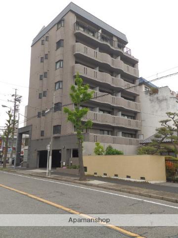 愛知県名古屋市東区、新栄町駅徒歩7分の築18年 7階建の賃貸マンション