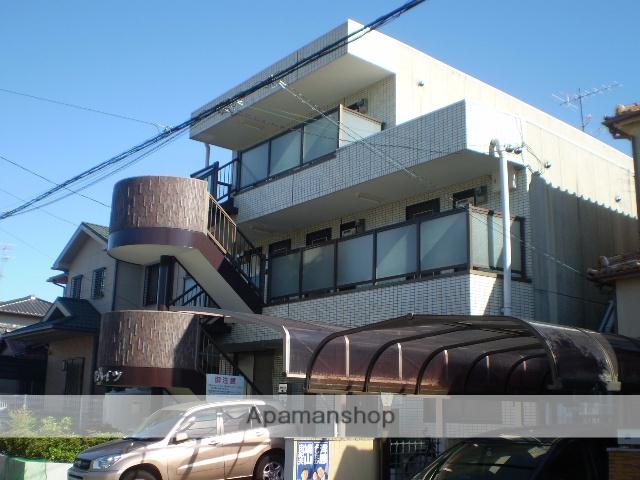 愛知県名古屋市千種区、池下駅徒歩16分の築28年 3階建の賃貸マンション