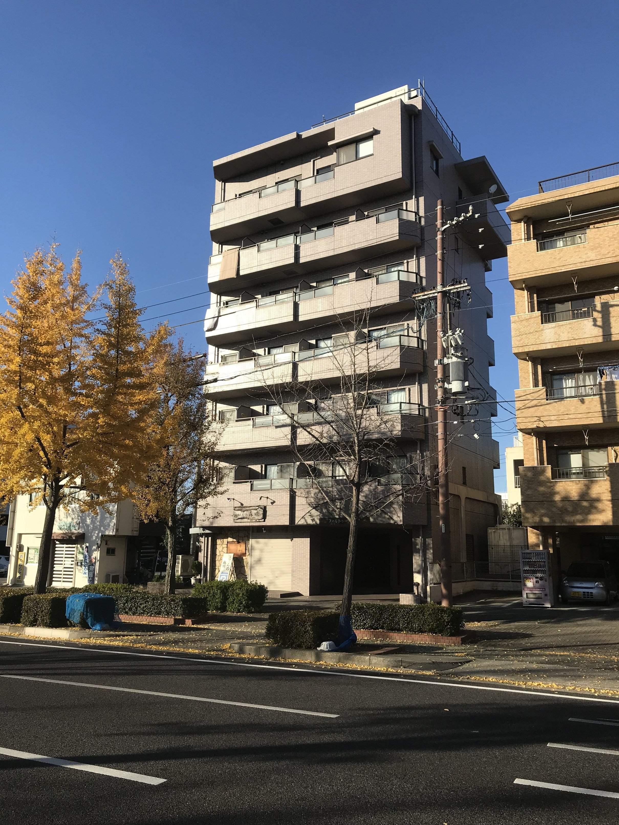 愛知県名古屋市昭和区、荒畑駅徒歩4分の築18年 7階建の賃貸マンション