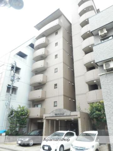 愛知県名古屋市東区、新栄町駅徒歩7分の築18年 8階建の賃貸マンション
