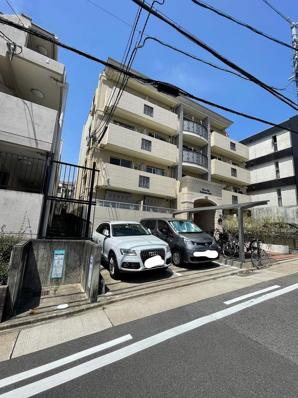 愛知県名古屋市千種区、今池駅徒歩14分の築2年 4階建の賃貸マンション