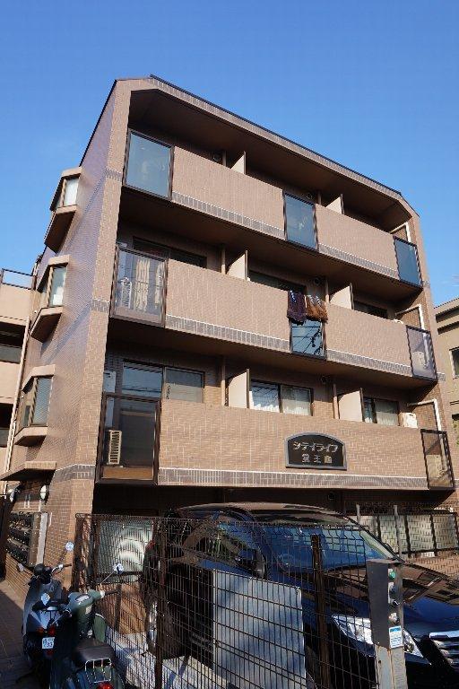 愛知県名古屋市千種区、今池駅徒歩14分の築18年 4階建の賃貸マンション