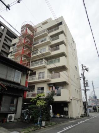 愛知県名古屋市千種区、今池駅徒歩10分の築40年 8階建の賃貸マンション