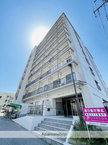 愛知県名古屋市千種区、茶屋ヶ坂駅徒歩7分の築42年 10階建の賃貸マンション