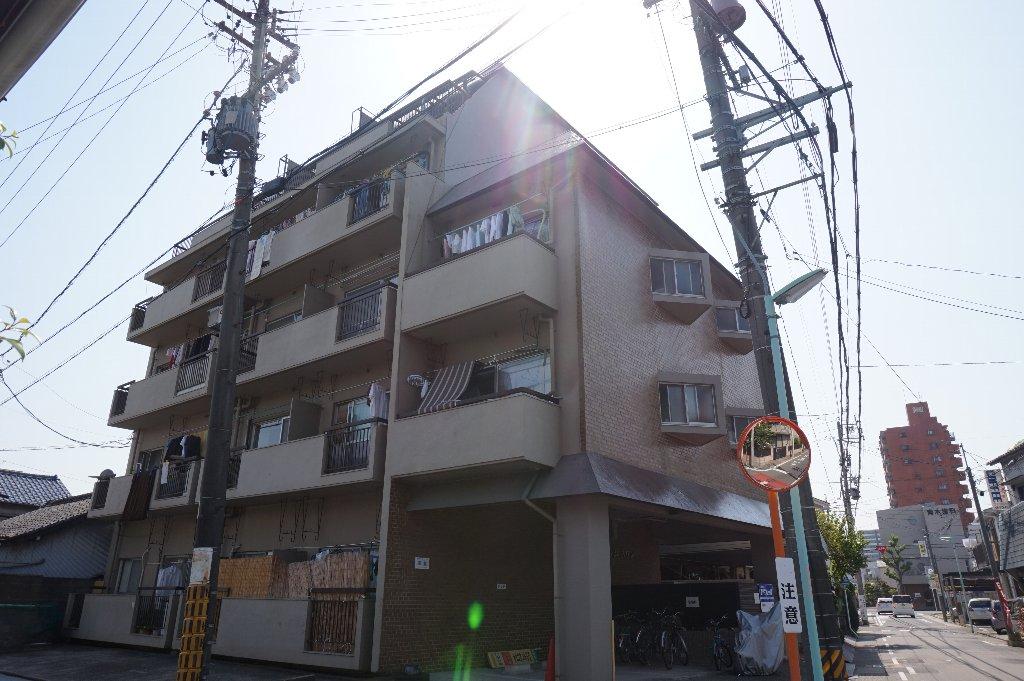 愛知県名古屋市東区、矢田駅徒歩8分の築44年 5階建の賃貸マンション