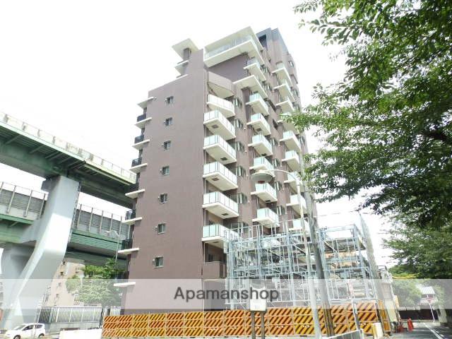 愛知県名古屋市東区、東大手駅徒歩12分の築3年 14階建の賃貸マンション