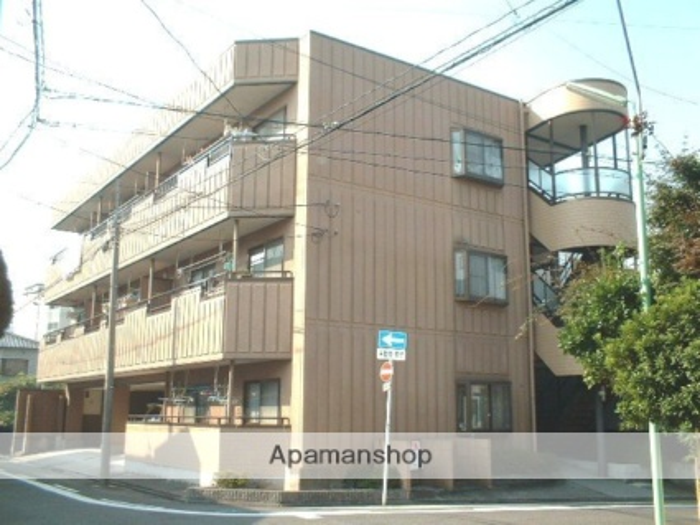 愛知県名古屋市東区、尼ヶ坂駅徒歩14分の築23年 3階建の賃貸マンション
