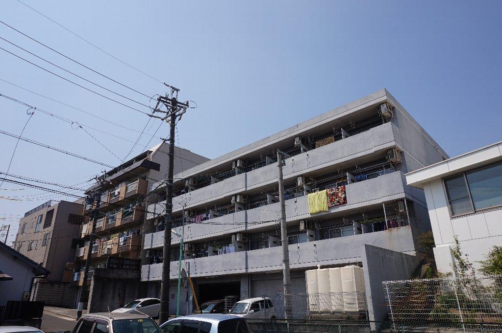 愛知県名古屋市千種区、大曽根駅徒歩14分の築22年 4階建の賃貸マンション