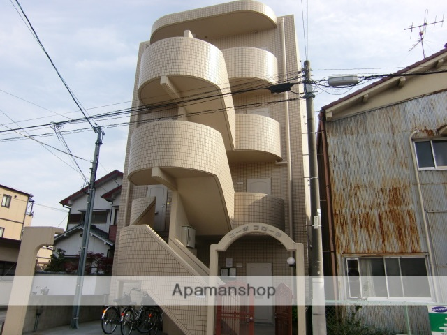 愛知県名古屋市千種区、今池駅徒歩11分の築24年 4階建の賃貸マンション