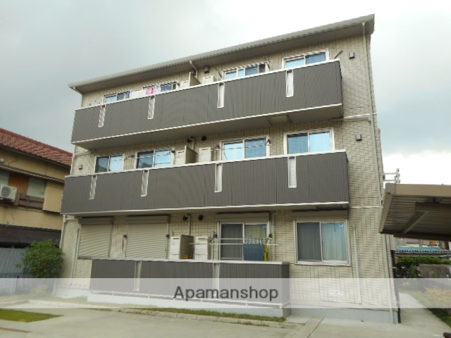 愛知県名古屋市東区、矢田駅徒歩10分の築7年 3階建の賃貸アパート