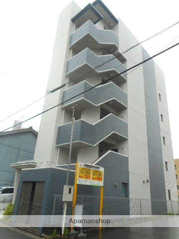 愛知県名古屋市千種区、今池駅徒歩11分の築7年 6階建の賃貸マンション
