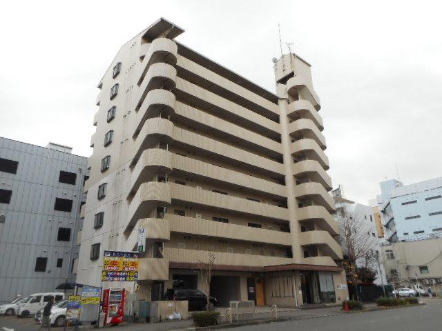 愛知県名古屋市東区、栄町駅徒歩10分の築13年 9階建の賃貸マンション