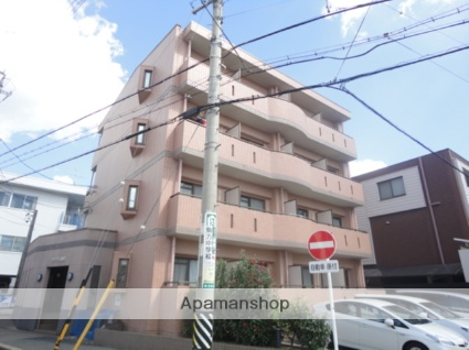 愛知県名古屋市昭和区、川名駅徒歩8分の築20年 4階建の賃貸マンション