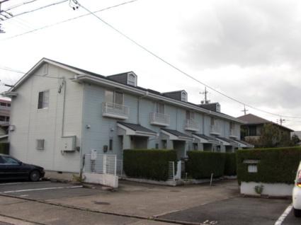 愛知県名古屋市昭和区、川名駅徒歩13分の築31年 2階建の賃貸テラスハウス
