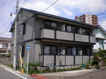 愛知県名古屋市東区、尼ヶ坂駅徒歩10分の築18年 2階建の賃貸アパート