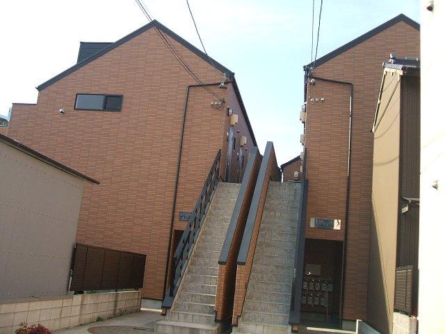 愛知県名古屋市千種区、今池駅徒歩12分の築10年 2階建の賃貸アパート