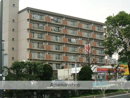 愛知県名古屋市千種区、東山公園駅徒歩17分の築39年 7階建の賃貸マンション