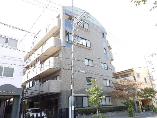 愛知県名古屋市千種区、今池駅徒歩10分の築21年 4階建の賃貸マンション