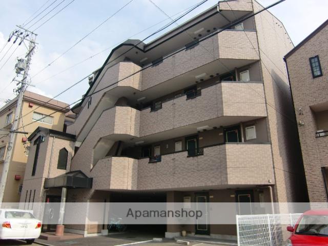 愛知県名古屋市千種区、千種駅徒歩12分の築21年 4階建の賃貸マンション