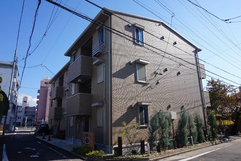 愛知県名古屋市東区、森下駅徒歩20分の築5年 3階建の賃貸アパート