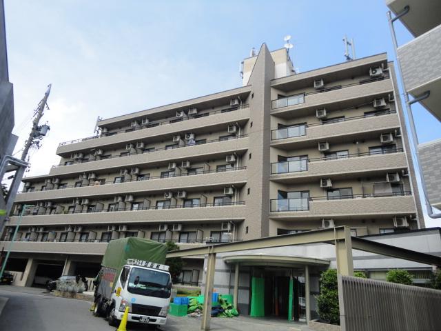 愛知県名古屋市千種区、新栄町駅徒歩13分の築18年 6階建の賃貸マンション