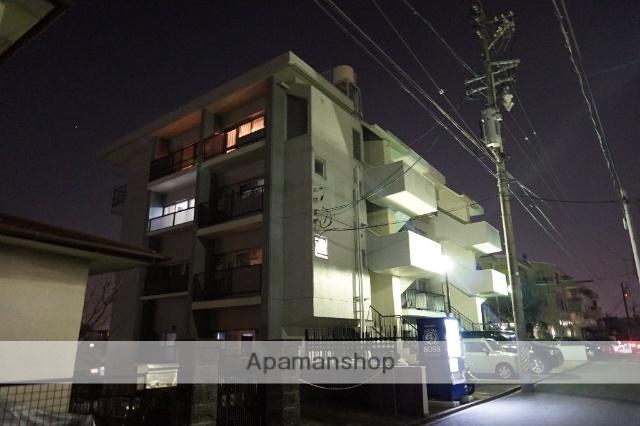 愛知県名古屋市千種区、覚王山駅徒歩15分の築45年 4階建の賃貸マンション