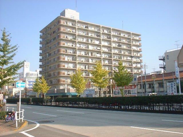 愛知県名古屋市千種区、千種駅徒歩14分の築39年 11階建の賃貸マンション