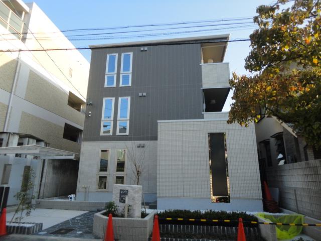 愛知県名古屋市昭和区、荒畑駅徒歩10分の築2年 3階建の賃貸アパート