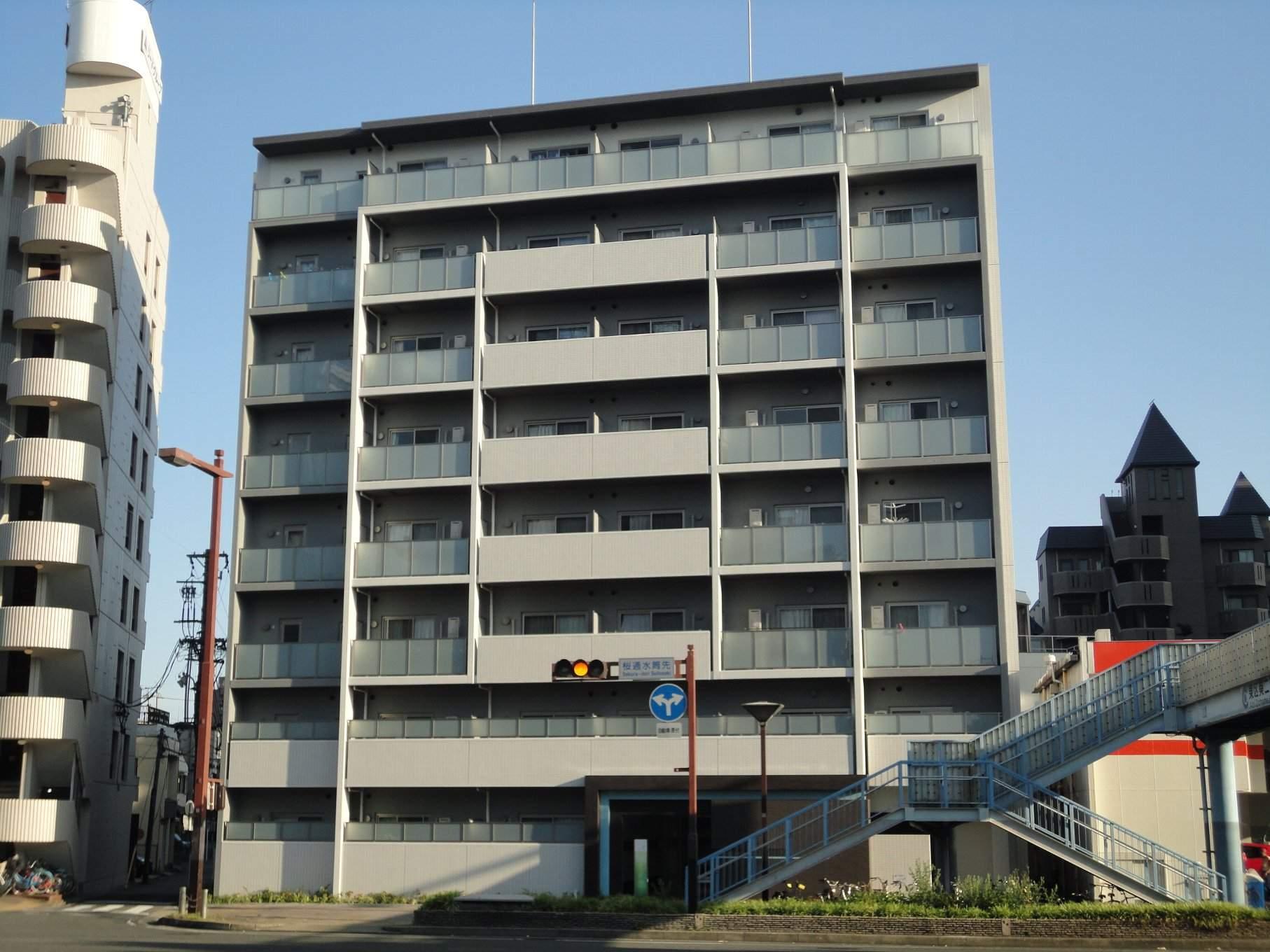 愛知県名古屋市東区、新栄町駅徒歩9分の築1年 8階建の賃貸マンション
