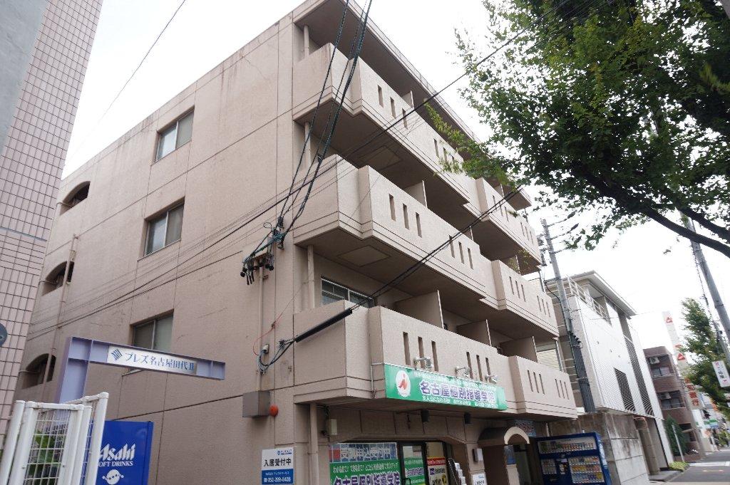 愛知県名古屋市千種区、池下駅徒歩15分の築32年 4階建の賃貸マンション