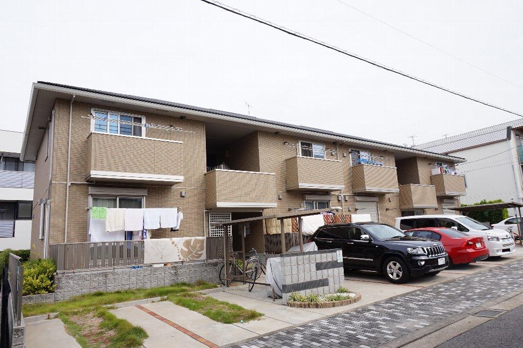 愛知県名古屋市千種区、池下駅徒歩20分の築6年 2階建の賃貸アパート