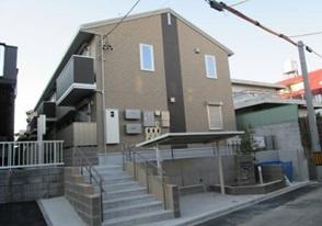 愛知県名古屋市千種区、池下駅徒歩9分の築3年 2階建の賃貸アパート